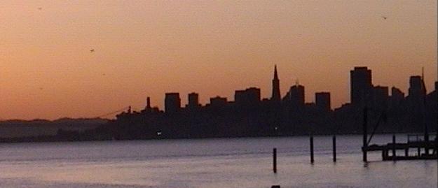 dusk-city