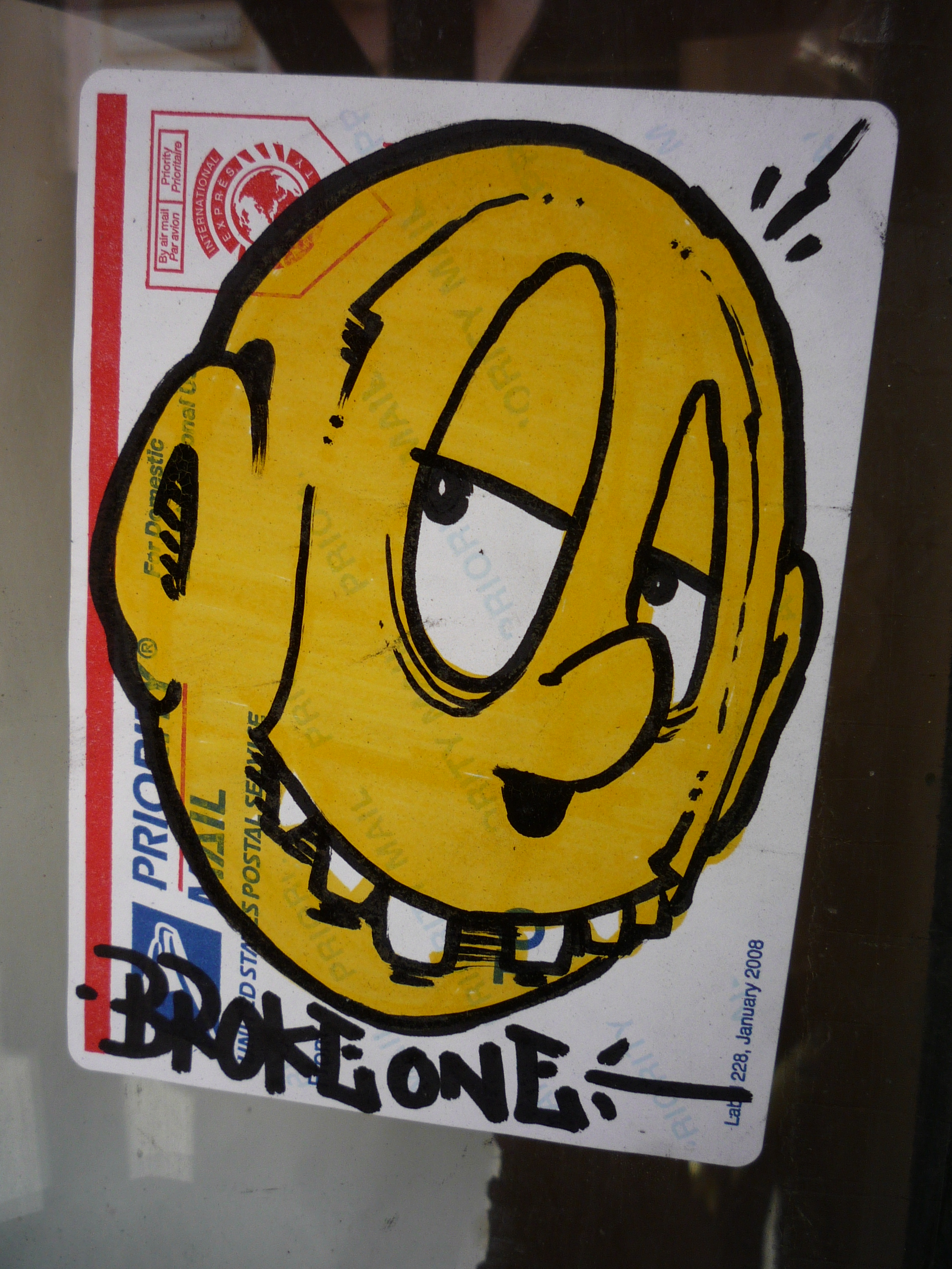 The Baffling World of Graffiti Sticker Artist Pobresito  EPA and ...